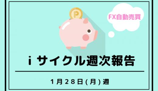 1/28(月)週のiサイクルによる不労所得は☆