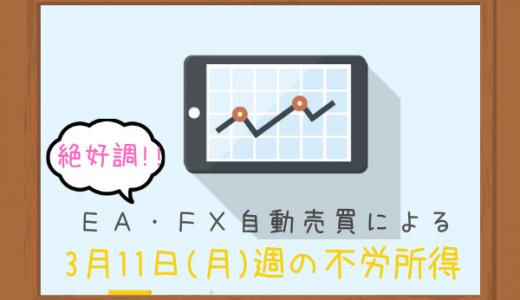 【最高益】3/11(月)週のFX自動売買による37,985円でした!